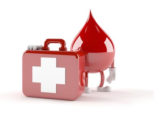 Handy und das Blut